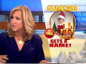 Lara Spencer apologizes for any confusion about reality of magical elf
