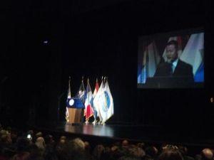 Comptroller Liu speaking earlier today.