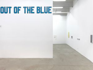 Installation view of 'Out of the Blue.' (Courtesy Bortolami)
