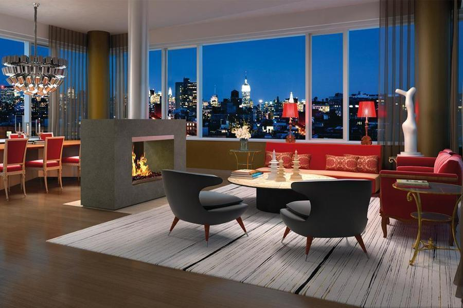 Aby Rosen's Artsy Penthouse at 350 West Broadway Finally Finds a Buyer