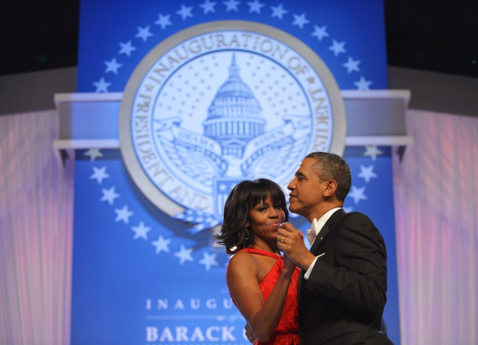 Inside the Inaugural Ball: Obama's Second Term Gets Off to Cheez-y Start