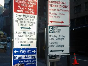Park this way. (Matt Chaban)