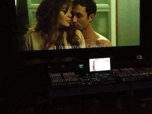 Lindsay Lohan and James Deen in The Canyons (Facebook)