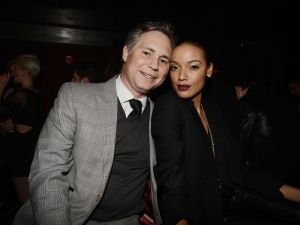 Jason Binn and Selita Ebanks at Marquee. (Patrick McMullan)