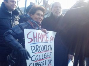 """Shames on Brooklyn College Support of Jew-Hatred"""