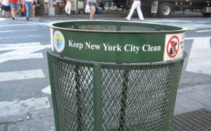 Upper East Side residents talk trash.