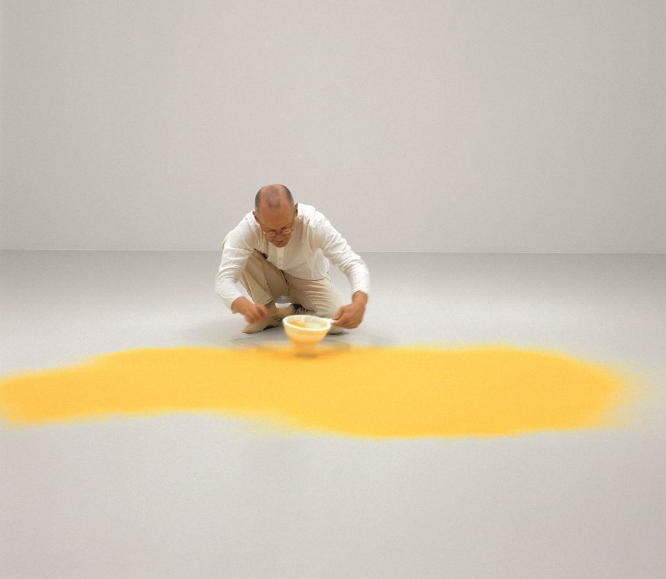 Wolfgang Pluck: Artist Laib Brings Pounds of Pollen to MoMA