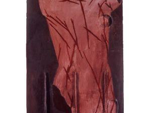 "Julian Schnabel, ""St. Sebastian,"" 1979. (Courtesy Oko/Luxembourg & Dayan)"
