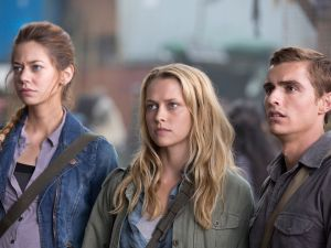 Analeigh Tipton, Teresa Palmer and the elusive Dave Franco.
