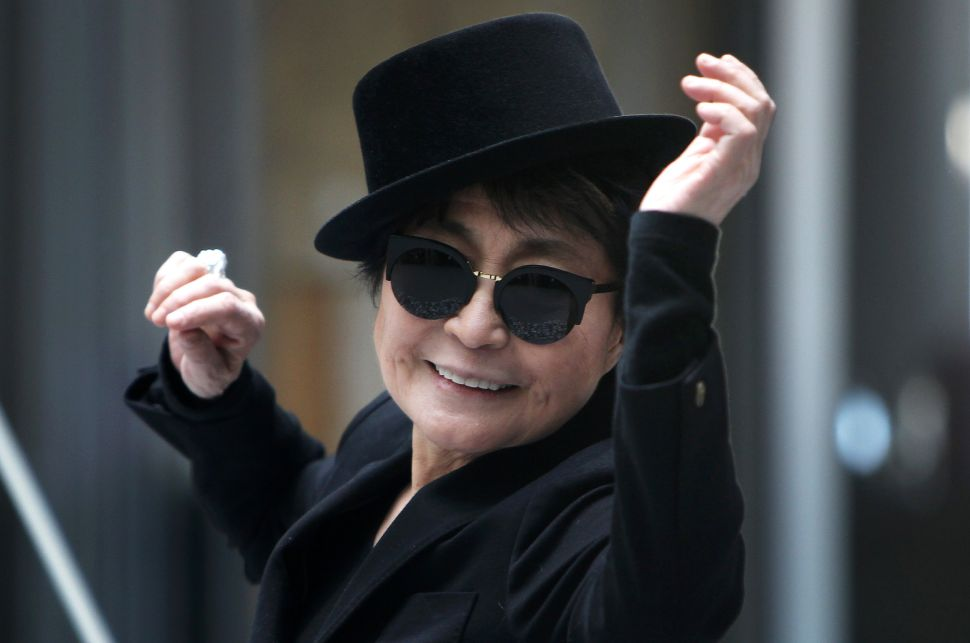 Yoko Ono Ushers in the Summer With a Sunrise Performance at MoMA