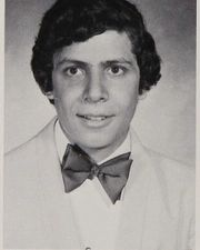Andrew Cuomo in a high school yearbook photo taken about two years before the 1977 mayoral campaign.