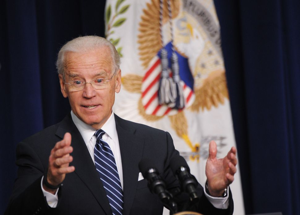 During Month of Gaffes, Vice President Biden Says Something Brilliant
