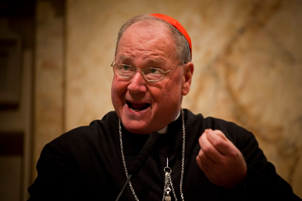 Cardinal Dolan and Assemblyman Rodriguez Push for Education Tax Credit