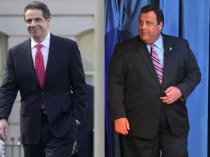 Andrew Cuomo and Chris Christie (Photo: Getty)