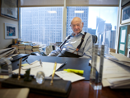 Mayor Bloomberg and Aspiring Mayors Fondly Remember Ed Koch's Legacy