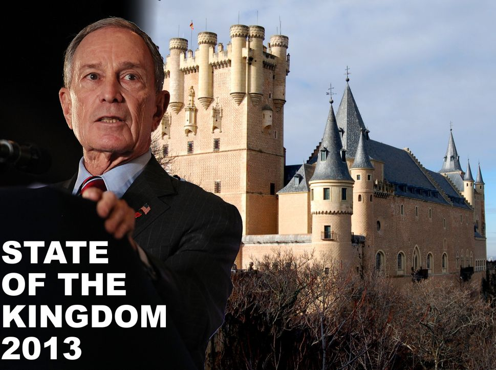 Bill de Blasio Is 'A Little Sick' of Bloomberg's 'Royal' Reign