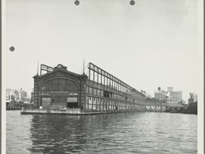 Pier 41, in better times. (NYPL)