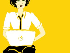 Ms. Popova's omnipresent avatar. (Image: Twitter)