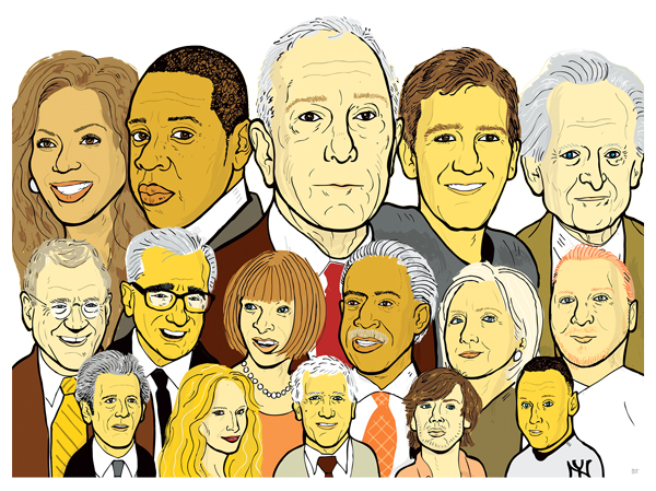 The 100 Most Influential New Yorkers of the Past 25 Years