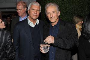 Larry Gagosian and Ed Ruscha.