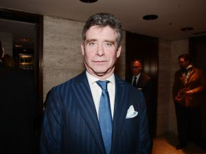 Jay McInerney at Observer's 25th Anniversary party. (PMc)