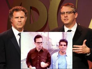 Main: Will Ferrell and Adam McKay/ Insert: Bob Odenkirk and Ben Stiller (Getty Images/The Ben Stiller Show