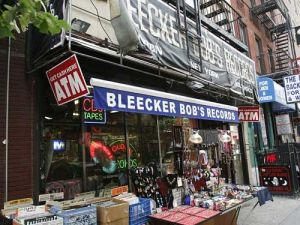 The record store is considering a marriage of convenience.