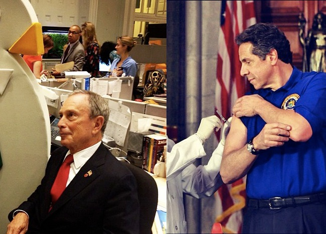Mayor Bloomberg and Governor Cuomo: A Tale of Two Instagrams