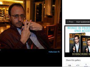 """Nimrod Kamer displays a """"finger hashtag."""" (Photo credit: Nimrod Kamer for Wired UK)"""