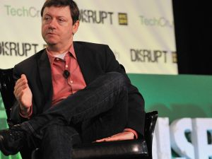Fred Wilson of Union Square Ventures speaks during TechCrunch Disrupt New York, May 2011.