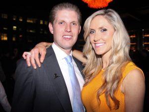 Eric Trump, Lara Yunaska (Photo: Grayson Dantzic)