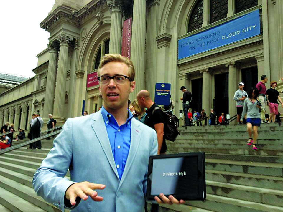 The Met's Been Hacked! Tipsy Museum Meet-Ups Attract 'Girls' Star Allison Williams, Vimeo Founder Zach Klein