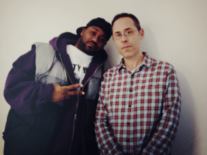 Mr. Porter and Ghostface Killah (Photo: Twitter)