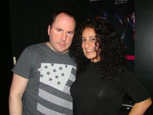 Keith Malley and Chemda Khalili.