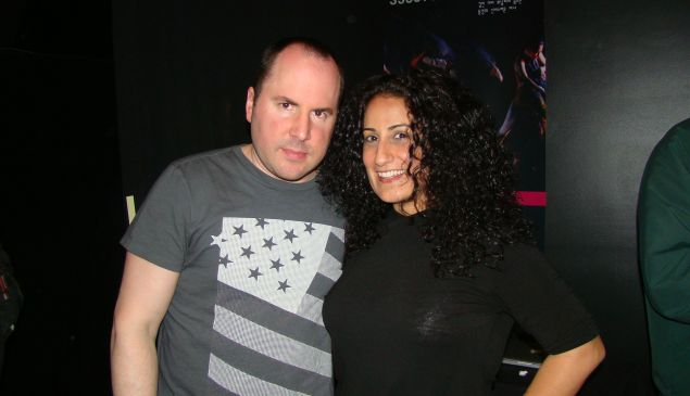 Keith Malley and Chemda Khalili.