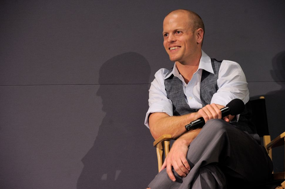 Surrender to Tim Ferriss: The Dynamo Behind the '4-hour' Books Should Run Your Life (And Maybe Our City)