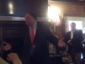 John Catsimatidis addresses the audience.