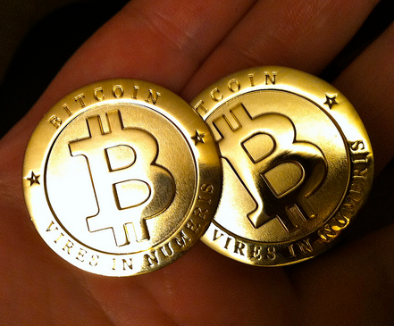 Bitcoins like these will now be traded on the floor of the New York Stock Exchange. (Flickr)