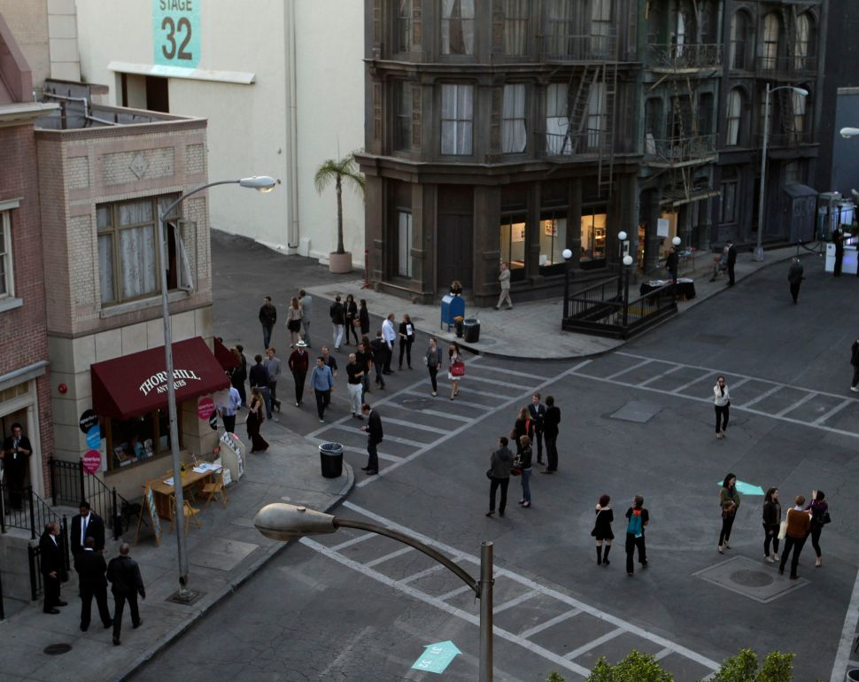 Escape From L.A. (via the Fake Big Apple): Paris Photo Opens at Paramount Studios