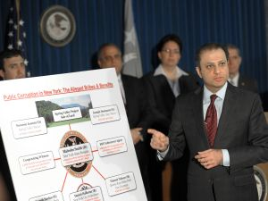 U.S. Attorney Preet Bharara. (Photo: Stan Honda for AFP/Getty Images)
