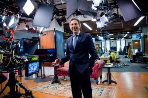 President of HuffPost Live Roy Sekoff on the set. (Photo credit: Shao-yu Liu)