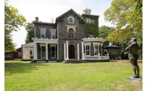 It's a mansion. With 7 acres. And it gets light on all four sides.