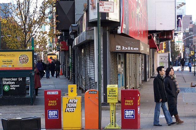 Fahrenheit 451? UWS Community Board Members Want to Kick Free Newspapers Off the Curb