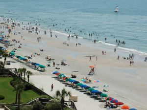 Picturesque Myrtle Beach, blighted this weekend by thongs. via Flickr