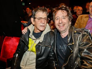 Lou Reed and Zorn. (Courtesy PMC)