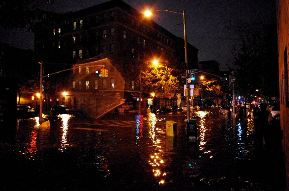 <em>New York Times</em> Warns of Hurricane Sandy Baby Wave