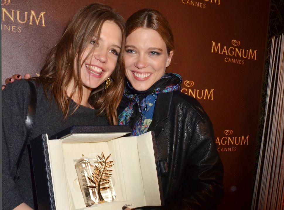 Cannes: Spielberg, Kidman, Waltz Choose Lesbian Romance <em>Blue Is the Warmest Color</em> for Palme d'Or