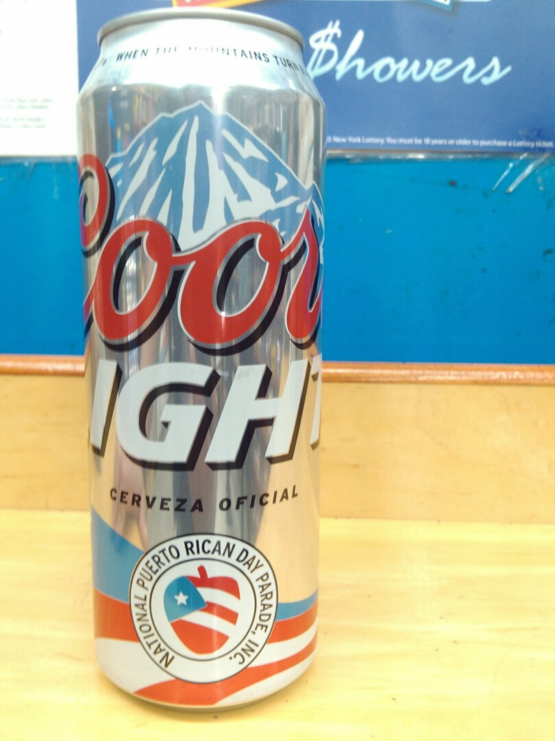 Coors To Stop Producing Puerto Rican Flag Cans