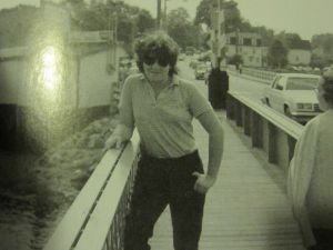 Christine Quinn in the summer of 1983, while touring colleges. (Photo: With Patience and Fortitude)