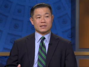 John Liu on NY1. (Photo: ny1.com)